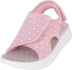 Różowe buty dziecięce letnie Kappa na rzepy