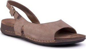 Brązowe sandały Go Soft