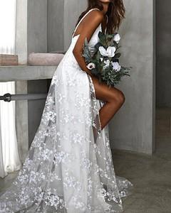 Sukienka Kendallme w stylu boho z dekoltem w kształcie litery v maxi