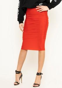Czerwona sukienka Pinko