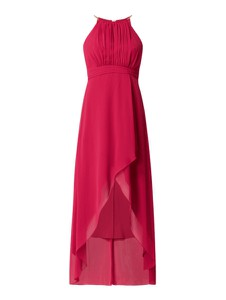 Czerwona sukienka Jake*s Cocktail maxi bez rękawów