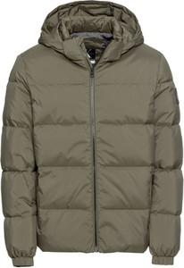 Brązowa kurtka Calvin Klein w stylu casual