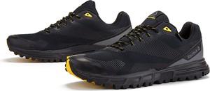 Czarne buty sportowe Reebok z goretexu sznurowane