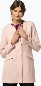 Różowy płaszcz Vila w stylu casual