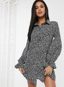 Sukienka Missguided z długim rękawem mini