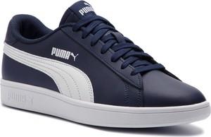 Sneakersy PUMA - Smash V2 L 365215 05 Peacoat/Puma White