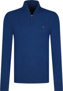 Sweter Tommy Hilfiger w stylu casual ze stójką