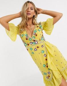Żółta sukienka Frock And Frill