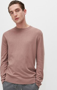 Fioletowy sweter Reserved w stylu casual