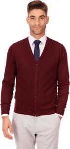 Czerwony sweter Lanieri Fashion w stylu casual
