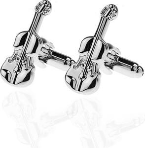 Em Men`s Accessories Spinki do mankietów tematyczne skrzypce EM 27