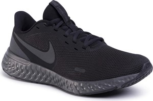 Czarne buty sportowe Nike sznurowane revolution