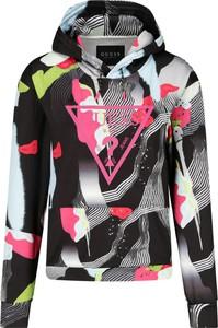 Bluza Guess z nadrukiem w młodzieżowym stylu