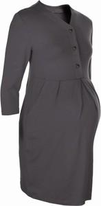 Czarna sukienka New York Style w stylu casual