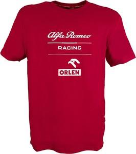 T-shirt Alfa Romeo Racing w młodzieżowym stylu