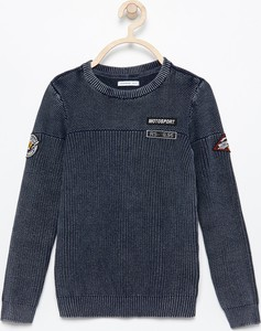 Niebieski sweter Reserved