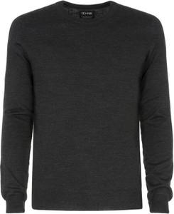 Sweter Ochnik z dzianiny w stylu casual z okrągłym dekoltem