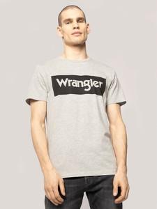 T-shirt Wrangler z krótkim rękawem