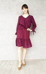 Sukienka Sklepfilloo z długim rękawem mini
