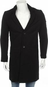 Czarny płaszcz męski Weekday