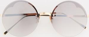Srebrne okulary damskie Reserved