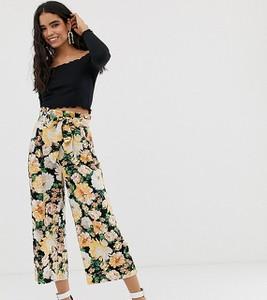 Spodnie Miss Selfridge z lnu