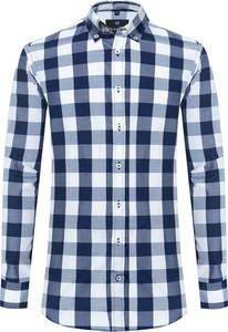 Koszula Di Selentino z tkaniny z długim rękawem z kołnierzykiem button down