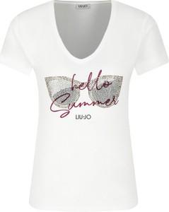 T-shirt Liu-Jo w młodzieżowym stylu
