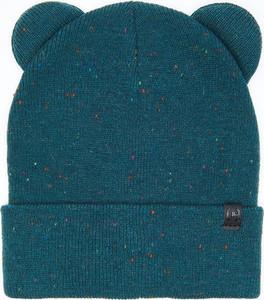 Turkusowa czapka Cropp w stylu casual