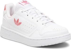 Buty sportowe dziecięce Adidas dla dziewczynek sznurowane