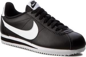 Buty sportowe Nike cortez sznurowane ze skóry