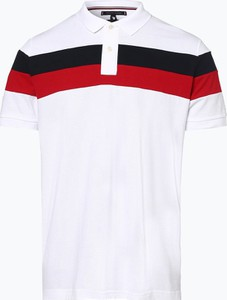 Koszulka polo Tommy Hilfiger w młodzieżowym stylu z krótkim rękawem