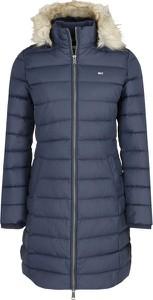 Niebieski płaszcz Tommy Jeans