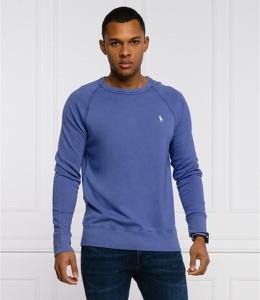 Niebieska bluza POLO RALPH LAUREN w stylu casual