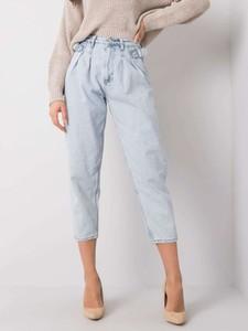 Jeansy Promese z bawełny w stylu casual