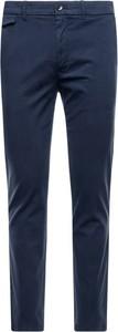 Niebieskie spodnie Calvin Klein w stylu casual