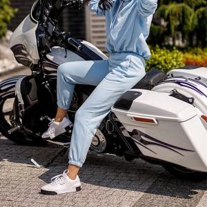 Niebieskie spodnie sportowe DKDreskod