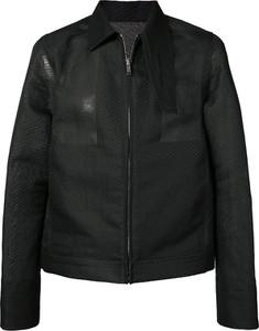 Czarna kurtka Rick Owens z bawełny