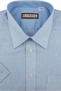 Koszula Konsul z bawełny z klasycznym kołnierzykiem