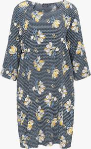 Sukienka BROADWAY NYC FASHION z długim rękawem mini oversize