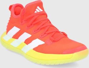 Buty sportowe Adidas Performance w sportowym stylu z płaską podeszwą sznurowane
