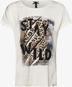 T-shirt Key Largo w młodzieżowym stylu z jedwabiu