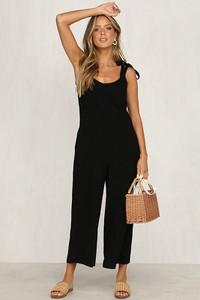 Kombinezon Coconut Sunwear z bawełny z długimi nogawkami