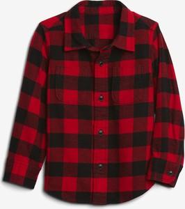 Czerwona koszula dziecięca Gap