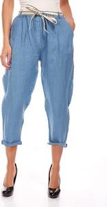 Spodnie Manoukian z lnu