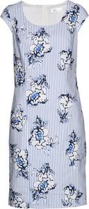 Sukienka bonprix bpc selection w stylu casual z krótkim rękawem z okrągłym dekoltem