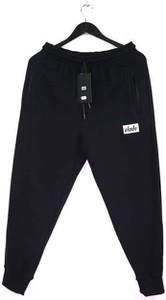 Czarne spodnie sportowe Elade z dresówki
