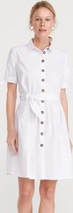 Sukienka Reserved szmizjerka w stylu casual mini