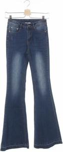 Niebieskie jeansy Uniq w street stylu