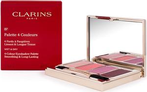 Clarins, 4 Colour Eye Palette, cienie do powiek, 07 Lovely Rose, 6,9g